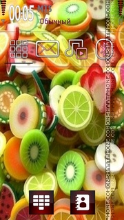 Fruits 07 theme screenshot
