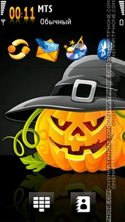 Halloween 2019 theme screenshot