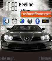 Brabus SLR theme screenshot