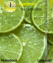 lime with coco Theme-Screenshot