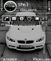 BMW M3 by Afonya777 theme screenshot