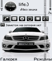 Mercedes by Afonya777 theme screenshot