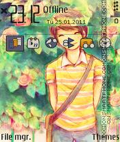 Capture d'écran La-la-la thème