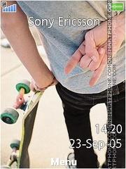 Skateboard es el tema de pantalla