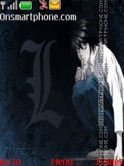 L Death Note theme screenshot