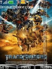 Transformers theme screenshot