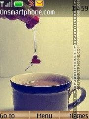 Скриншот темы Love cup