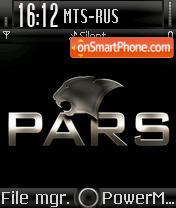 Pars theme screenshot