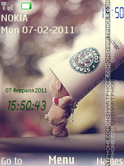 Starbucks Coffee 02 theme screenshot
