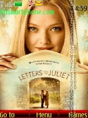 Letters to Juliet theme screenshot