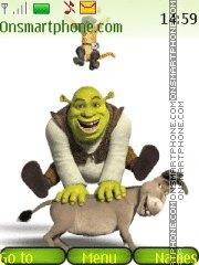 Скриншот темы Shrek 08