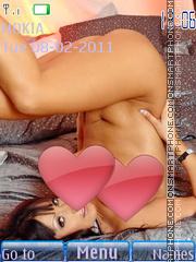 Sexy model61 theme screenshot