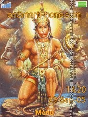 Hanuman 02 es el tema de pantalla
