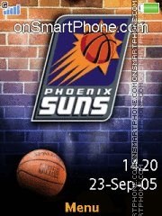 Phoenix Suns 01 theme screenshot