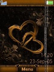 Golden Heart 01 es el tema de pantalla
