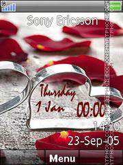 Love Clock 05 theme screenshot