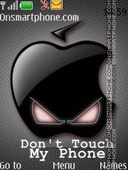Dont Touch 17 es el tema de pantalla
