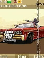 GTA San Andreas 10 es el tema de pantalla