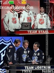 NHL All-Stars Game 2011 theme screenshot
