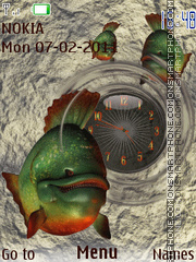 Piranhas theme screenshot