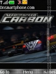Nfs Carbon With Tone 01 tema screenshot