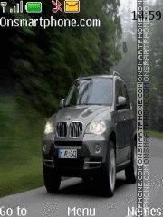 BMW X6 theme screenshot