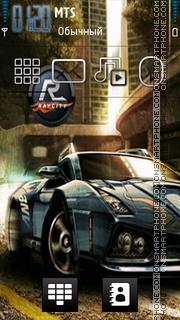 Nfs Car 06 theme screenshot