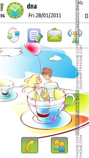 Valentines Series 3 theme screenshot