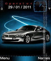 BMW blue theme screenshot