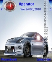 Nissan350z theme screenshot