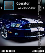 ShelbyGT500 theme screenshot