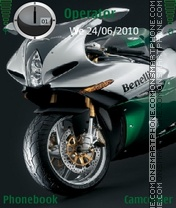 Benelli Superbike theme screenshot