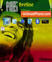 Rasta theme screenshot