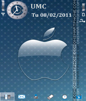 AbstApple theme screenshot