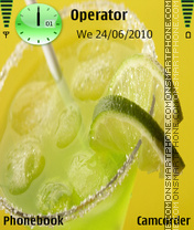 Cocktail theme screenshot