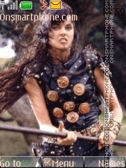 Xena: Warrior Princess theme screenshot