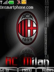 Ac milan 20 theme screenshot