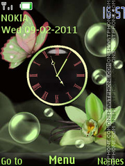 Скриншот темы Orchids