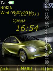 Car1 theme screenshot