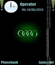 Audi Theme-Screenshot