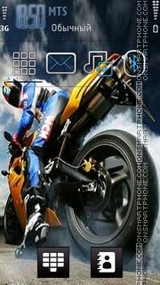 Biker 02 theme screenshot