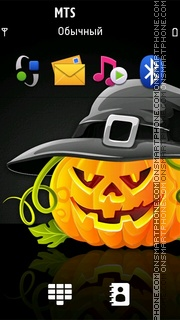 Halloween 2020 tema screenshot