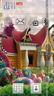 3d House theme screenshot