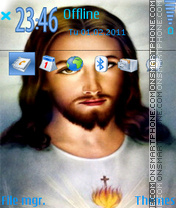 Скриншот темы Jesus Christ 09