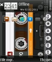 AudioCassette. tema screenshot