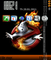 Ghostbusters 02 theme screenshot