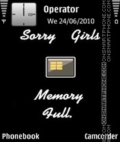 Memory-Full Theme-Screenshot