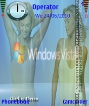 Wista girl theme screenshot