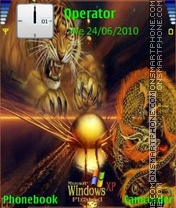 Windows tiger xp Theme-Screenshot
