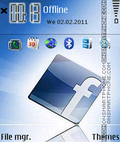 Facebook 03 theme screenshot
